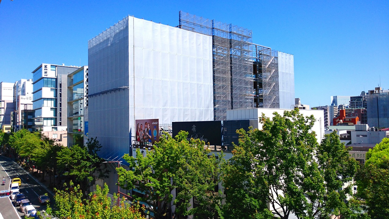 ソニーストア ビル 建設中