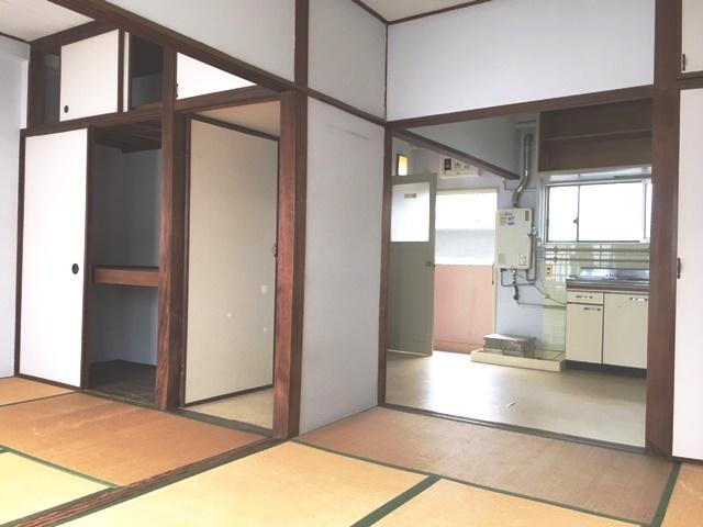 広々とした和室。落ち着きますね~!
